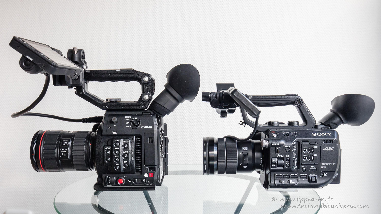 Canon C200 Vs Sony Fs7